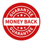 100% Money Back Guaranteed